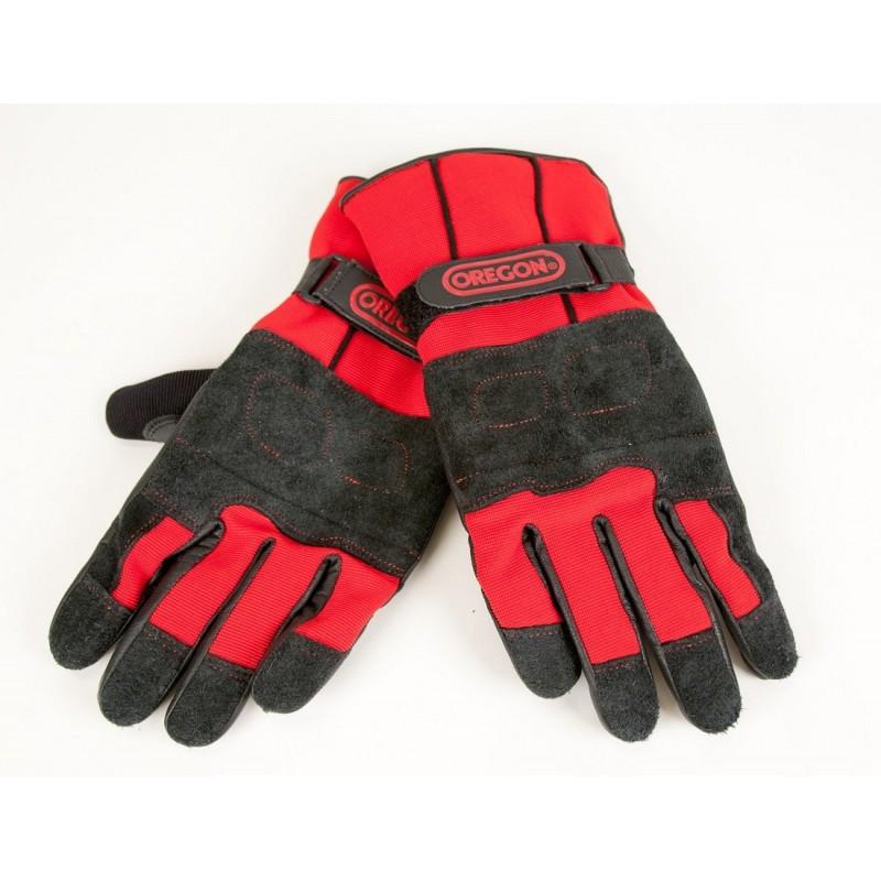 Protipořezové zimní kožené rukavice Fiordland Oregon (295485) cc17043724