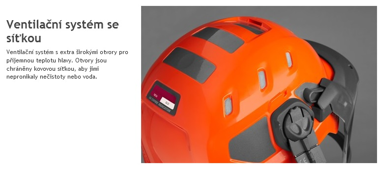 Ochranná přilba Husqvarna Technical (585 05 84-01) 8c378a63ce4